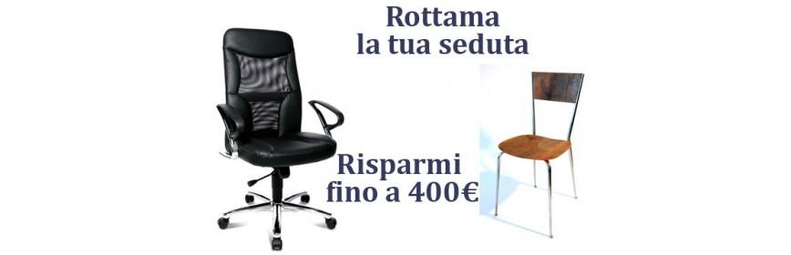 Sedute in promozione prisma srl for Prisma arredo negozi